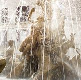 Fountain of Diana, Ortigia, Sicily Royalty Free Stock Image