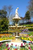 Fountain in the Dingle, Shrewsbury. Royalty Free Stock Photo