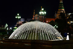 The fountain dome #2 Royalty Free Stock Photo