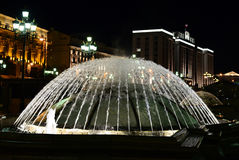 The fountain dome #1 Royalty Free Stock Images