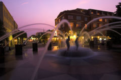 Fountain in downtown charleston, South Carolina Royalty Free Stock Photo