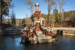 Fountain of the Dragons Stock Photography