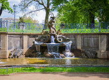 Fountain in Dresden Royalty Free Stock Image
