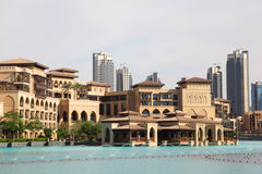Fountain Dubai -one of greatest fountains in world Stock Images