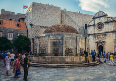Fountain in Dubrovnik Stock Photography