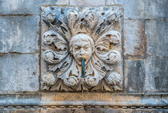 Fountain in Dubrovnik Stock Photo
