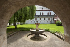 Fountain in Eberbach Monastery Royalty Free Stock Photography