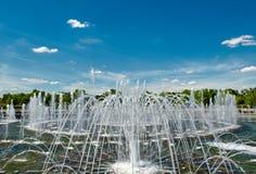 Fountain ensemble in park Stock Photography