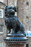 Fountain erected in honour of Greyfriar's Bobby. UK Royalty Free Stock Photos