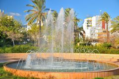 Fountain estepona Royalty Free Stock Photo