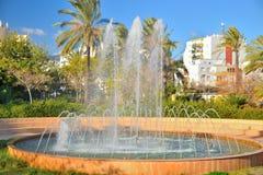 Fountain estepona Royalty Free Stock Photo