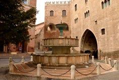 Fountain, Fabriano Stock Image