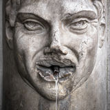 Fountain with face Royalty Free Stock Photography