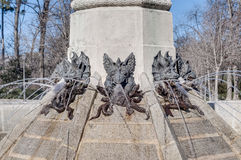 The Fountain of the Fallen Angel in Madrid, Spain. Royalty Free Stock Photos