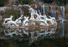 The Fountain at the feet of the Grand Cascade. Stock Photos