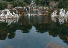 The Fountain at the feet of the Grand Cascade. royalty free stock images
