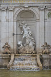 Fountain Fragment Royalty Free Stock Images