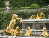 Fountain fragment Royalty Free Stock Photos