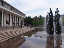 Fountain of Freedom in Princeton, New Jersey Royalty Free Stock Photography