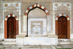 Fountain in front of Topkapi Palace, Istanbul Stock Image