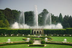 Fountain in garden Stock Photography