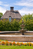 Fountain in a garden Royalty Free Stock Photography