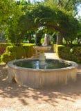 Fountain garden Royalty Free Stock Photography