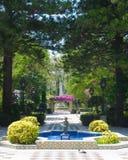 Fountain garden Stock Images