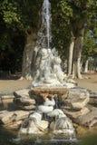 Fountain in the garden of Aranjuez, Spain. September 26 2017 Spain. September 26 2017, Fountain in the garden of Aranjuez, Spain. September 26 2017 Spain Stock Images