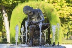 Fountain in the garden of Aranjuez, Spain. September 26 2017 Spain. September 26 2017, Fountain in the garden of Aranjuez, Spain. September 26 2017 Spain Royalty Free Stock Image