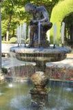 Fountain in the garden of Aranjuez, Spain. September 26 2017 Spain. September 26 2017, Fountain in the garden of Aranjuez, Spain. September 26 2017 Spain Stock Photography