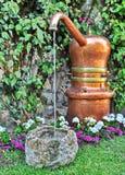 Fountain in  Garden of Augustus Royalty Free Stock Photos