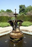 Fountain in a garden, Hever castle, Kent, England Royalty Free Stock Image