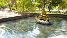 Fountain in Bago, Myanmar