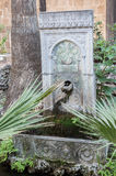 Fountain in Garden Rhodes Royalty Free Stock Photography