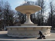 The fountain in the garden Saxon. Stock Photos