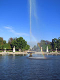 Fountain in Garden of the Tuileries - Paris Royalty Free Stock Image