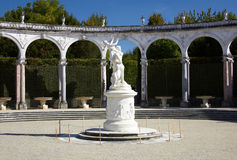 Fountain garden in the Versailles Royalty Free Stock Photography