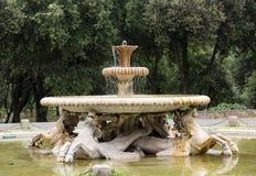 Fountain in Garden of Villa Borghese. Rome Royalty Free Stock Photography