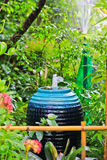 Fountain in the garden Royalty Free Stock Photo