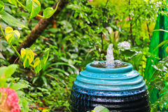 Fountain in the garden Royalty Free Stock Image