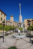 Fountain in gardens, Cordoba, Spain. Royalty Free Stock Photography