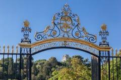 The Fountain Gardens Nimes royalty free stock photos