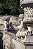 Fountain Gardens, Nimes, France royalty free stock photo