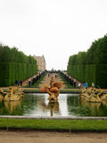 Fountain in the Gardens of Versailles Royalty Free Stock Photos