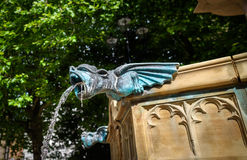 Fountain Gargoyle Royalty Free Stock Image
