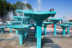 Fountain. Stock Photos