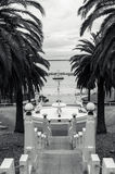 Fountain on the Geelong waterfront Stock Photography