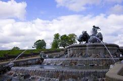 Fountain. Gefion Fountain in Copenhagen, Denmark Royalty Free Stock Photography