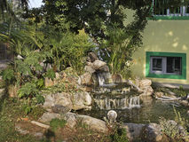 Fountain in Gevgelija town. Macedonia.  Stock Photography